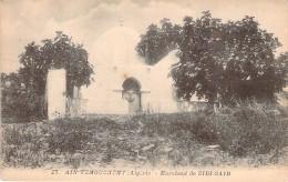 CPA  Algérie Ain Temouchent Marabout De Sidi-Said   ER 808 - Algerien