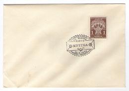 JUGOSLAVIJA YUGOSLAVIA  COVER SPECIAL POSTMARK  110 GODINA POSTE KUTINA 1959 ANNIVERSARY POST OFFICE - 1945-1992 Socialist Federal Republic Of Yugoslavia