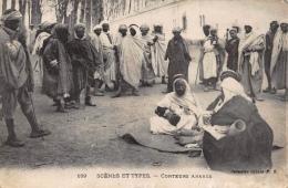 Algeria   Scènes Et Types     Conteurs Arabes       A 1276 - Algérie
