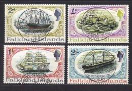 R826 - FALKLAND , Serie Usata 186/190 : Manca Il N. 188 - Falkland