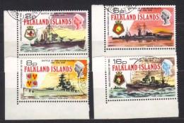R683 - FALKLAND , Serie Completa Usata 231/234 - Falkland