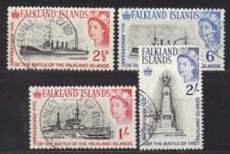 R284 - FALKLAND , Serie Completa Usata 144/147 - Falkland