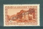 SAAR - SARRE - Mi Nr 24 - Dienstmarken - MNH** - Cote 8,00 € - Ohne Zuordnung