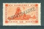 SAAR - SARRE - Mi Nr 29 - Dienstmarken - MNH** - Cote 5,00 € - Sarre