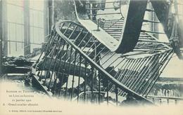 LONS LE SAUNIER - Incendie Du Théâtre,grand Escalier Effondré.. - Lons Le Saunier