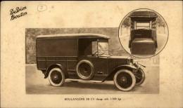 AUTOMOBILES - DE DION BOUTON BOULANGERE - Planche - Vieux Papiers