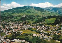 MEGEVE  Vue Générale Et Le Mont Blanc - Megève