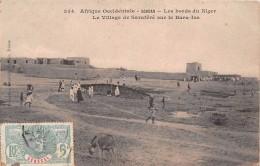 ¤¤  -  354   -  SOUDAN   -  Les Bords Du Niger  -  Le Village De Saraféré Sur La Bara-Isa     -  ¤¤ - Sudan
