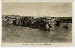 MALTE GENERAL VIEW SENGLEA - Malta
