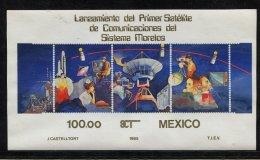 Mexico, 1985 ** Space, Satellite,   Morelos - Space