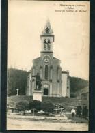 CPA - HAUTERIVES - L'Eglise Et Le Monument, Animé - Hauterives