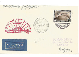 ALLEMAGNE  Polar-Fahrt 1931 + Brise-glace - Polar Flights