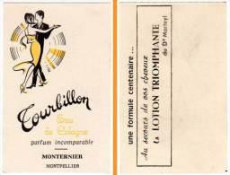 Carte Parfumée, Tourbillon, Eau De Cologne, Monternier, Montpellier - Cartes Parfumées