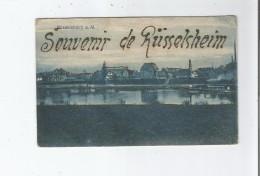 RUSSELSHEIM A M. SOUVENIR DE RUSSELSHEIM 5038 (CARTE AVEC PAILLETTES) - Ruesselsheim
