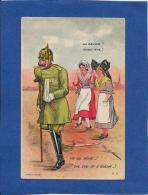 CPA Satirique Caricature Non Circulé Kaiser Alsace Lorraine - Andere Zeichner