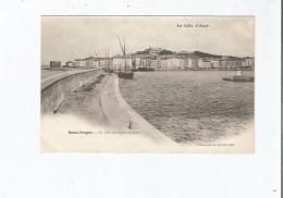 SAINT TROPEZ LA VILLE DEPUIS LA JETEE - Saint-Tropez