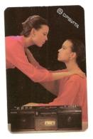 Pocket Calendar USSR - 1989  - Radio Equipment  - Girls -  Advertising - Calendriers