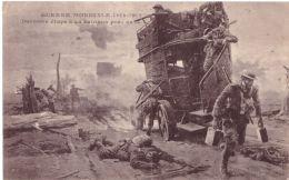 Guerre Mondiale 1914 1918 Dernière étape D´un Autobus Près De X - War 1914-18