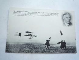 HENRY FARMAN NON CIRCULE DOS DIVISE VERT LIGUE AERONAUTIQUE DE FRANCE - Sportifs