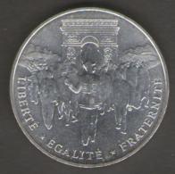 FRANCIA 100 FRANCHI 1994 LIBERATION DE PARIS AG SILVER - Francia