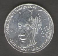 FRANCIA 100 FRANCHI 1992 JEAN MONNET AG SILVER - Francia