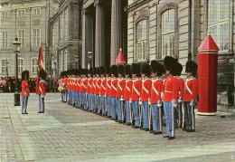 Vaktparaden På Amalienborg. The Royal Guard. Die Wachtparade. København - Copenhagen - Denmark