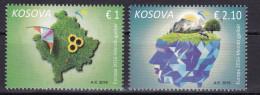 Kosovo 2016 Europa, Environment, Ecology, Sun Flower, Cow, Set MNH - 2016