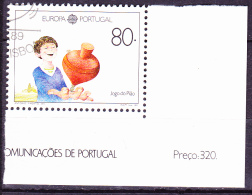 Portugal - Europa (Mi.Nr. 1785) 1989 -  Gest. Used Obl. - 1989