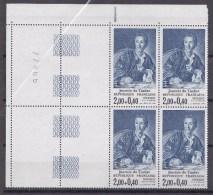 N° 2304 Journée Du Timbre Oeuvre De L.M. Van Loo: Diderot Bloc De 4  Timbres Neuf - Unused Stamps