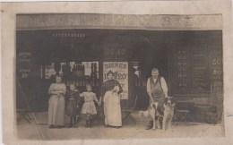 CARTE PHOTO NON SITUEE - VINS BIERES ALCOOLS - Absinthe - Maison  J. LEBRUN - Cartes Postales