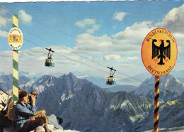 Bayerische-Tiroler Grenze Am Zugspitzgrat (2964m)