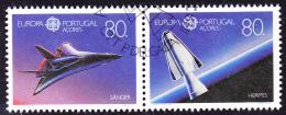 Acoren - Europa (Mi.Nr. 416/5) 1991 -  Gest. Used Obl. - Europa-CEPT