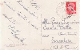 Cartolina  Da Scutari A Cavalese Con Annullo  P.M.  206  Del &7/1941    A873 - 1900-44 Vittorio Emanuele III