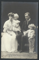 CPA - Famille Royale - Monarchie - Prince Et Princesse Albert De Belgique - Princes Leopold Et Charles - F.Buyle  // - Familles Royales