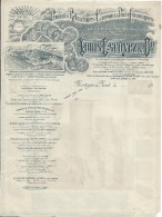 Facture Publicitaire Vierge/Louis Escoyez & Cie/ Produits Réfractaires Carreaux Pavés/MORTAGNE Du NORD/ 1900 ?  FACT189 - Francia