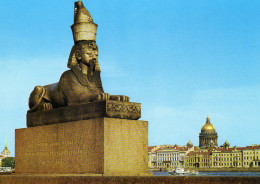 The Sphinx At The Academy Of Arts, Leningrad - Russia