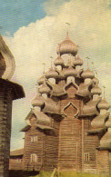 Kizhi. The Church Of Transfiguration. L'Eglise En Charpente De La Transfiguration. - Russia