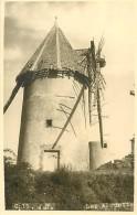 A-16 7547 : LES HERBIERS VENDEE MOULIN A VENT  AU MONT DES ALOUETTES CARTE-PHOTO - Windmills