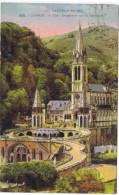 LOURDES VUE PLONGEANTE SUR LA BASILIQUE - Lourdes