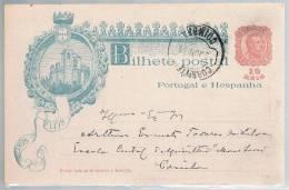 Portugal, 1898, For Coimbra - 1892-1898: D. Carlos I.