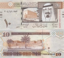 Saudi Arabia - 10 Riyals 2012 UNC Lemberg-Zp - Arabie Saoudite