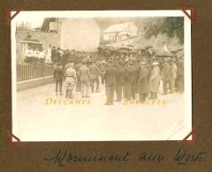 Aisne Soissons - PERNANT Inauguration Du Monument Aux Morts - 2 PHOTOS ORIGINALES - Voir Scans - Places