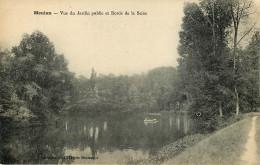 Dép 78 - Meulan - Vue Du Jardin Public Et Bords De La Seine - état - Meulan