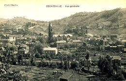 Z Z  968 /  C P A -- DECAZEVILLE   (12)  VUE GENERALE - Decazeville