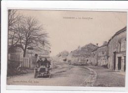 CHEMERY : La Grand'rue, Automobile - Etat - France