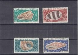 Wallis Et Futuna - Année 1976 - Coquillages - YT 192/195 - Neufs** - Wallis En Futuna