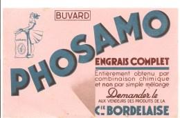 Buvard PHOSAMO Engrais Complet Demandez Le Aux Vendeurs Des Produits De La Cie Bordelaise - Agriculture