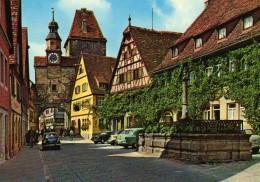 Rödergasse Mit Markusturm - Rothenburg - Rothenburg O. D. Tauber