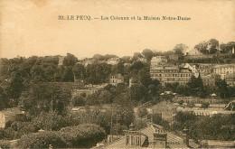 Dép 78 - Le Pecq - Les Coteaux Et La Maison Notre Dame - état - Le Pecq