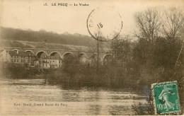 Dép 78 - Le Pecq - Viaduc - état - Le Pecq